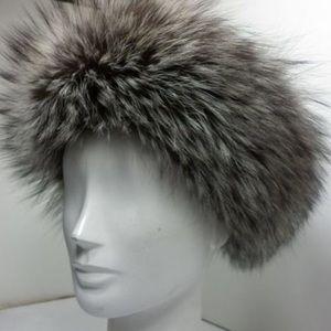 Other - DejavuNY 100% Real Silver Fox Fur Headband